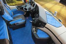 Fussmatten Set Lkw Mercedes Actros MP4 15 teilig Farbe nach Wahl Kunstleder