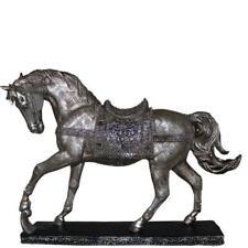 HORSE FIGURINE POLYRESIN HORSE STATUE ANIMAL FIGURINE FARM WESTERN