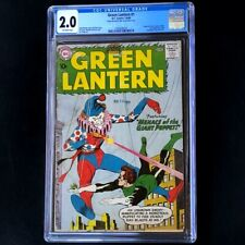 Green Lantern #1 (DC 1960) 💥 CGC 2.0 OW 💥 1st Guardians of the Universe! Comic