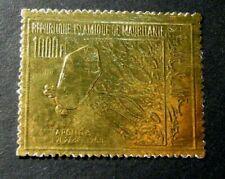 Mauritania Stamp Scott#  C86 Apollo 8 and Moon Surface 1969 MNH C525
