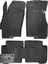 Rubber Carmats for Fiat Linea 2007-2013 All Weather Floor Mats Fully Tailored