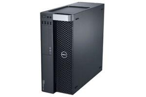 Lot Of 5 Dell Precision T3600 Workstation Xeon E5-1607 Quad Core 3Ghz 8GB 1TB