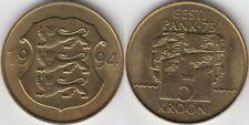 ESTONIA - EESTI. 5 KROONI DE 1994.