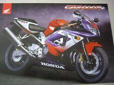 Honda CBR900RR Fireblade sales brochure