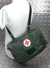 More details for genuine old pattern military issued medics side pack shoulder strap medi bag