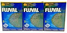 Fluval Carbon External Filters 100g Nylon Bags, 3 boxes -  8 Total New
