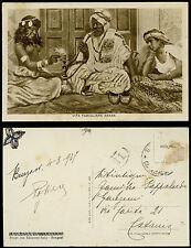 cartolina militare BENGASI vita familiare araba