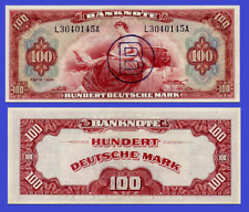 Germany 100 mark 1948 wiht handstamp B UNC Reproduction