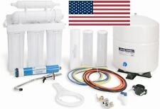 Watts Reverse Osmosis 5 Stage System Water Filtration RO 50GPD Built in USA
