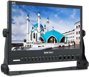 "FeelWorld SEETEC P133-9HSD 13.3"" Broadcast LCD Video Full HD Monitor 3G SDI HDMI"