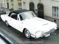 FORD THUNDERBIRD MODEL CAR 1/43RD SCALE WHITE/BLACK 2 DOOR VERSION PKD R0154X{:}