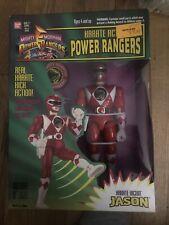 Karate Action Power Rangers Kickin Red Ranger Jason MMPR 8? Deluxe Figure Bandai
