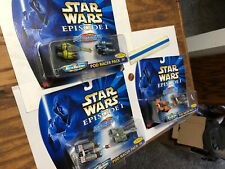 Star Wars Micro Machine Tatooine Podracer lot - New Pack II, III, and IV - 6pc