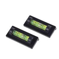 2 stücke Mini wasserwaage protractor magnet für TV Rack Bilderrahmen  ^