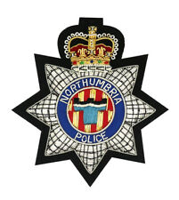 More details for northumbria police embroidered blazer badge