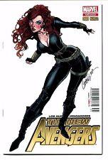New Avengers #28 J Scott Campbell Mexican Edition Black Widow 9.2