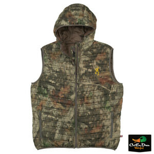 NEW BROWNING PACKABLE PUFFER HOODED VEST