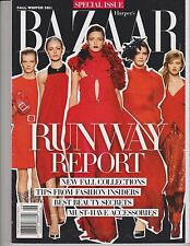 HARPER'S BAZAAR Mag Fall/Winter 2011,Runway Report FASHION FALL COLLECTIONS ISSU