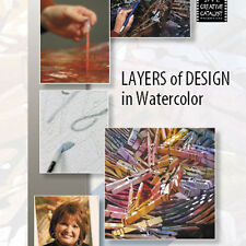 NEW DVD: LAYERS OF DESIGN IN WATERCOLOR Texture Mask Blend Sketch Depth Layers