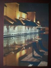 POSTCARD LANCASHIRE WIGAN PIER - NICE REFLECTION FROM WATER
