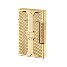 S.T. Dupont Humphrey Bogart Limited Edition Ligne 2 Lighter Grained Yellow Gold