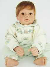 "Lee Middleton by Reva Schick - COTTON TAILS 20"" Red Head Baby Toddler Boy"