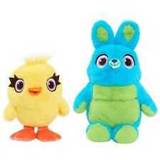 Toy Stories 4 Ducky & Bunny Friendship Plush Duo 2 Pack - No Retail Package