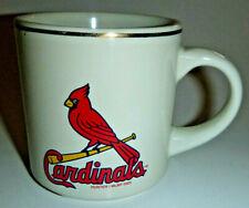 Cardinals Heavy Ceramic Coffee Mug Hunter Mlbp 2002 w/ Numbered Bottom Hologram
