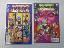 Harley Quinn and Her Gang of Harleys #1+2 NM (2016)
