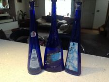 Three Tall Wine Bottles - Ideal For Candles