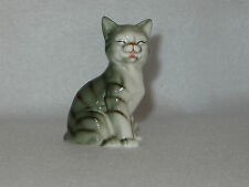 """Feline Fun"" Danbury Mint Cats Of Character Bone China Figurine - Mint"