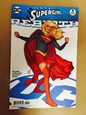 SUPERGIRL REBIRTH #1 ADAM HUGHES VARIANT 1ST PRINT DC COMICS (2016) SUPERMAN