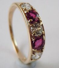 Unbranded Eternity Ruby Natural Fine Rings