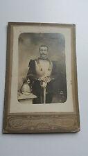 Une ancienne photo carte militaire cuirassier ww1 1914-1918 militaria.