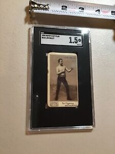 1890 Mayo's Cut Plug N130 Boxer Jim Daley Tobacco Boxing Card SGC 1.5 FR