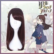 Hot! Little Witch Academia Akko Kagari Cosplay Wig Long Hair HH.25