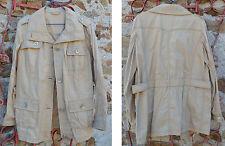Veste sable 3/4, taille 40, 100% coton, parfait état