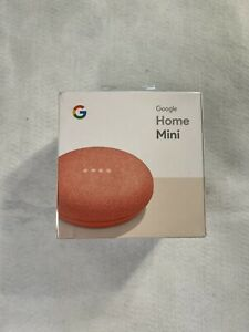 NEW* Google Home Mini Smart Assistant - Coral