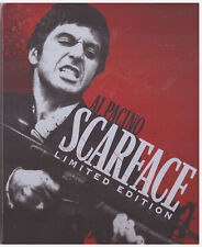 SCARFACE STEELBOOK (Blu-ray/DVD, 2011, 2-Disc Set, Limited Edition)