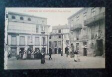 Postal de Santiago de Compostela. Plaza del Toral