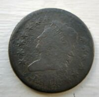 1814 classic head large cent Good details Full liberty G Corrosion Crosslet 4