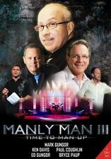 Manly Man III: Time to Man Up DVD 4 Disc Set Brand New!