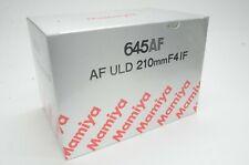 Brand new!! Mamiya 645AF ULD 210mm f/4 IF Lens