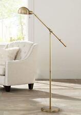 "Antique Brass 55"" Floor Lamp Gome Office Reading Light Bedroom Corner Lighting"