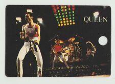 1980s UK Pop Star Card UK Rock Group Queen Freddie Mercury Brian May John Deacon