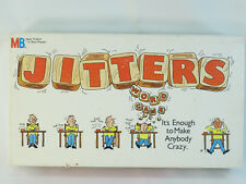 Jitters 1986 Word Board Game Milton Bradley 100% Complete Excellent Condition
