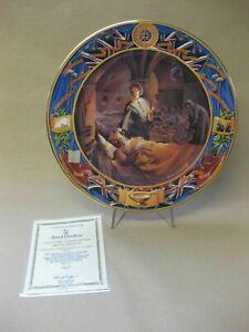 Florence Nightingale At Scutari ~ Royal Doulton Bone China Plate, COA ~ Ltd. Ed.