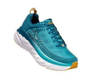 New Women's Hoka One One Bondi 6 Running Shoes Size 11 Blue/Seaport 1019270