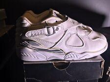 Vtg 2003 Nike Air Jordan 8 Retro Ps White/Grey 305360-104, Preschool Size 13C