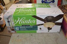 "Hunter Newsome 42"" Indoor Ceiling Fan Premier Bronze 51084"